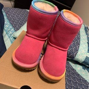 Ugg Classic Short Rainbow Boot